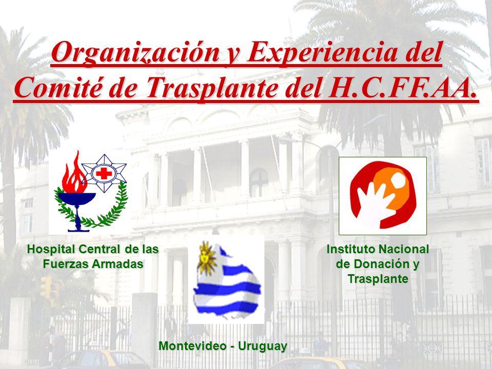 Organización y Experiencia del Comité de Trasplante del H.C.FF.AA.