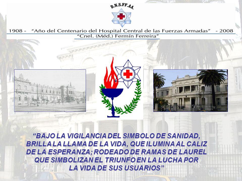 BAJO LA VIGILANCIA DEL SIMBOLO DE SANIDAD,