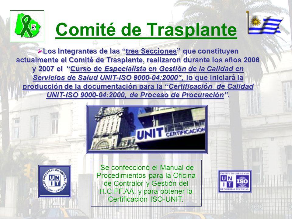 Comité de Trasplante