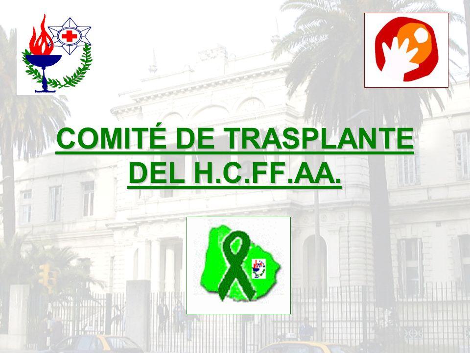 COMITÉ DE TRASPLANTE DEL H.C.FF.AA.