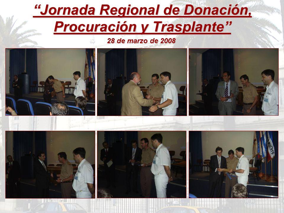 Jornada Regional de Donación, Procuración y Trasplante
