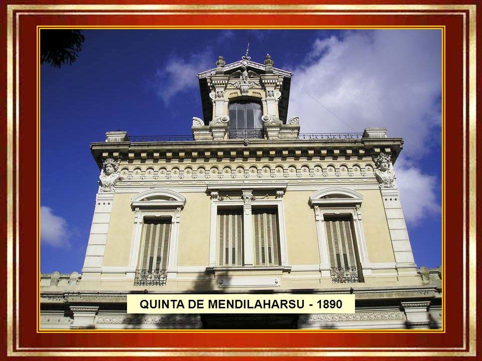 QUINTA DE MENDILAHARSU - 1890