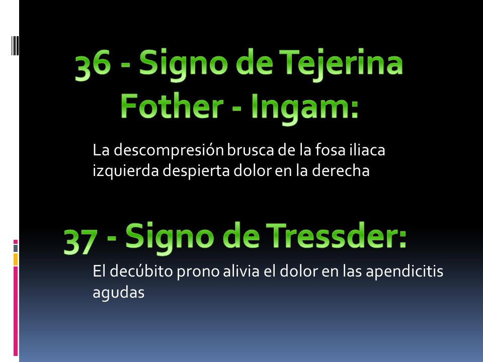 36 - Signo de Tejerina Fother - Ingam: 37 - Signo de Tressder: