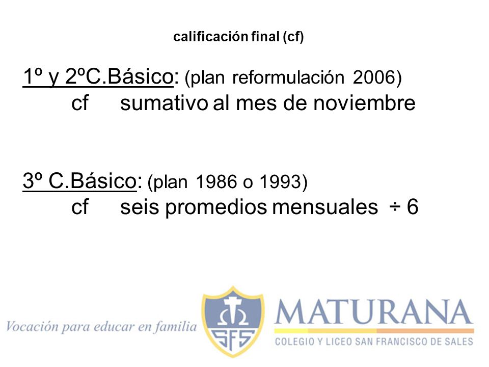calificación final (cf)