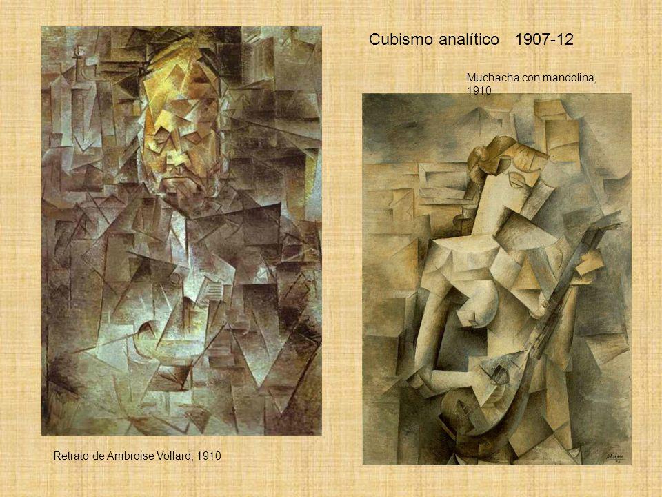 Cubismo analítico 1907-12 Muchacha con mandolina, 1910