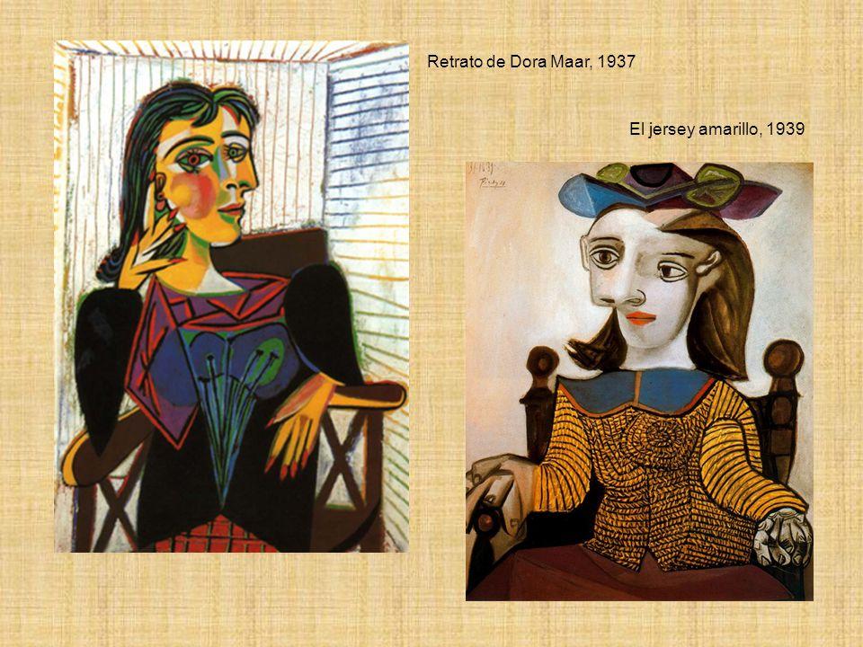 Retrato de Dora Maar, 1937 El jersey amarillo, 1939