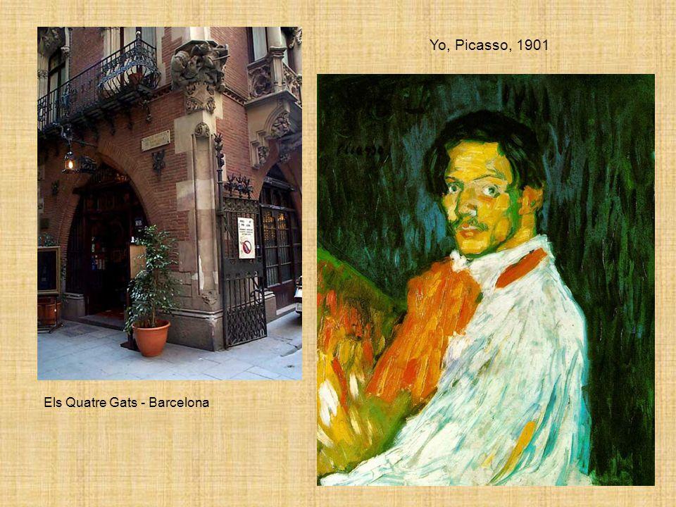 Yo, Picasso, 1901 Els Quatre Gats - Barcelona