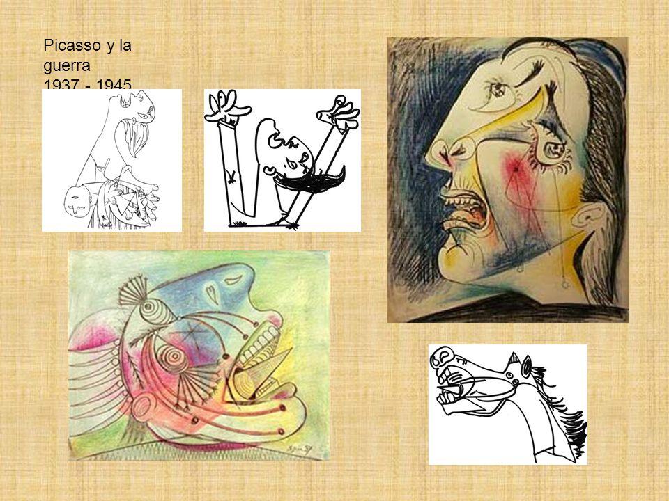 Picasso y la guerra 1937 - 1945