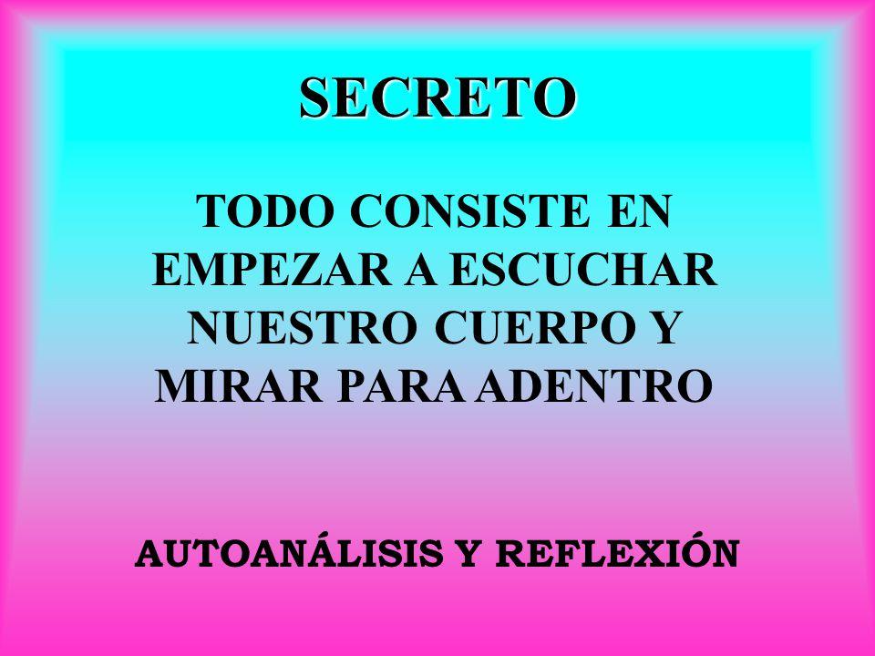 AUTOANÁLISIS Y REFLEXIÓN
