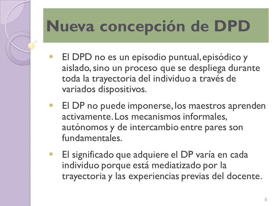Nueva concepción de DPD