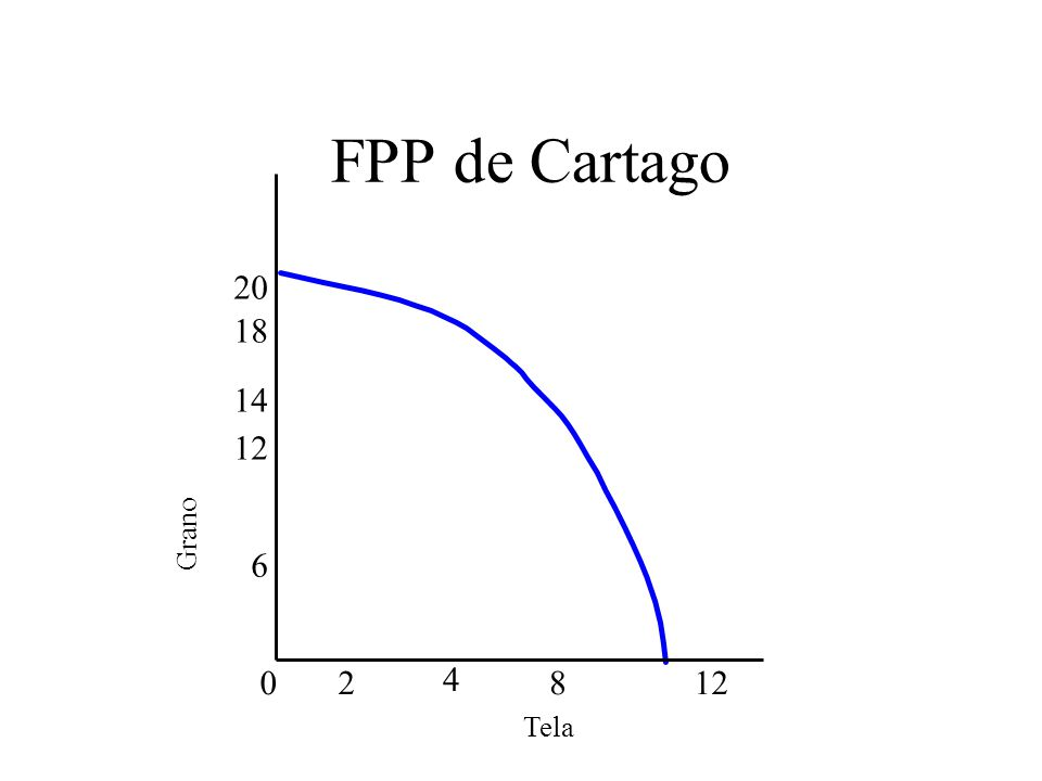 FPP de Cartago 20 18 14 12 6 2 4 8 12 Grano Tela Instructor Notes:
