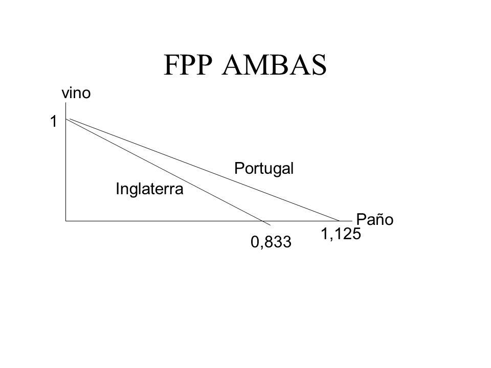 FPP AMBAS vino 1 Portugal Inglaterra Paño 1,125 0,833