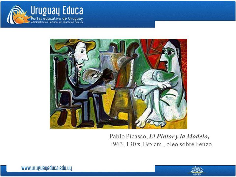 Pablo Picasso, El Pintor y la Modelo,