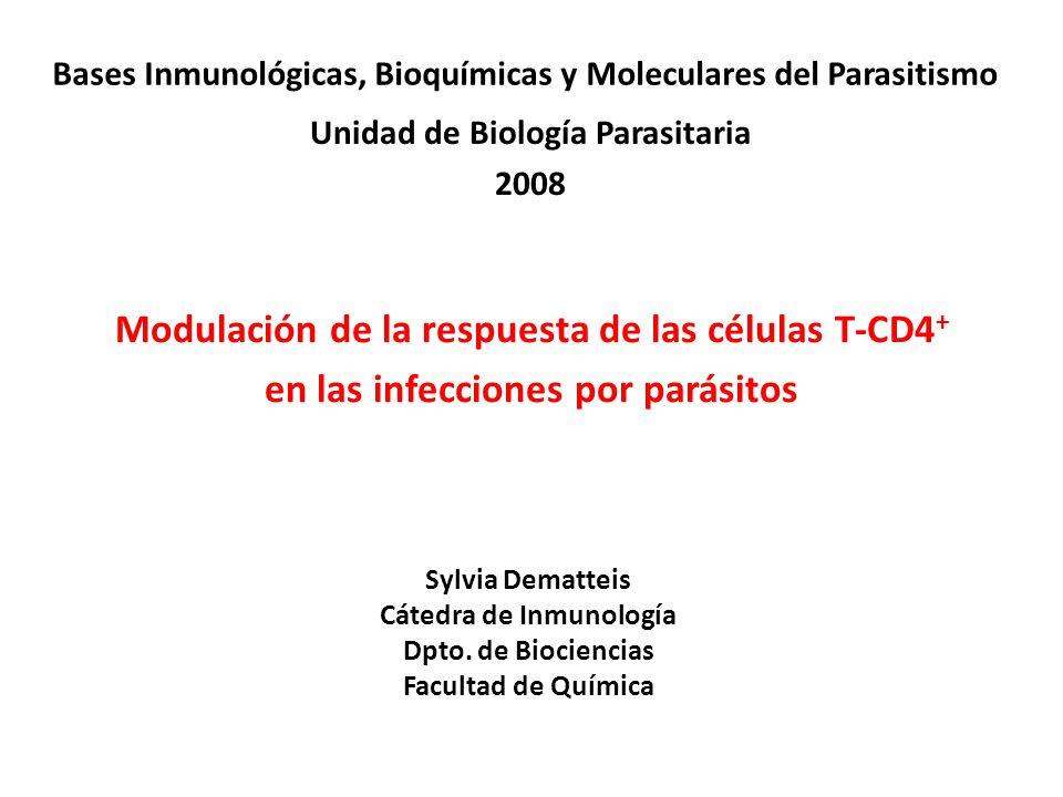Unidad de Biología Parasitaria Cátedra de Inmunología