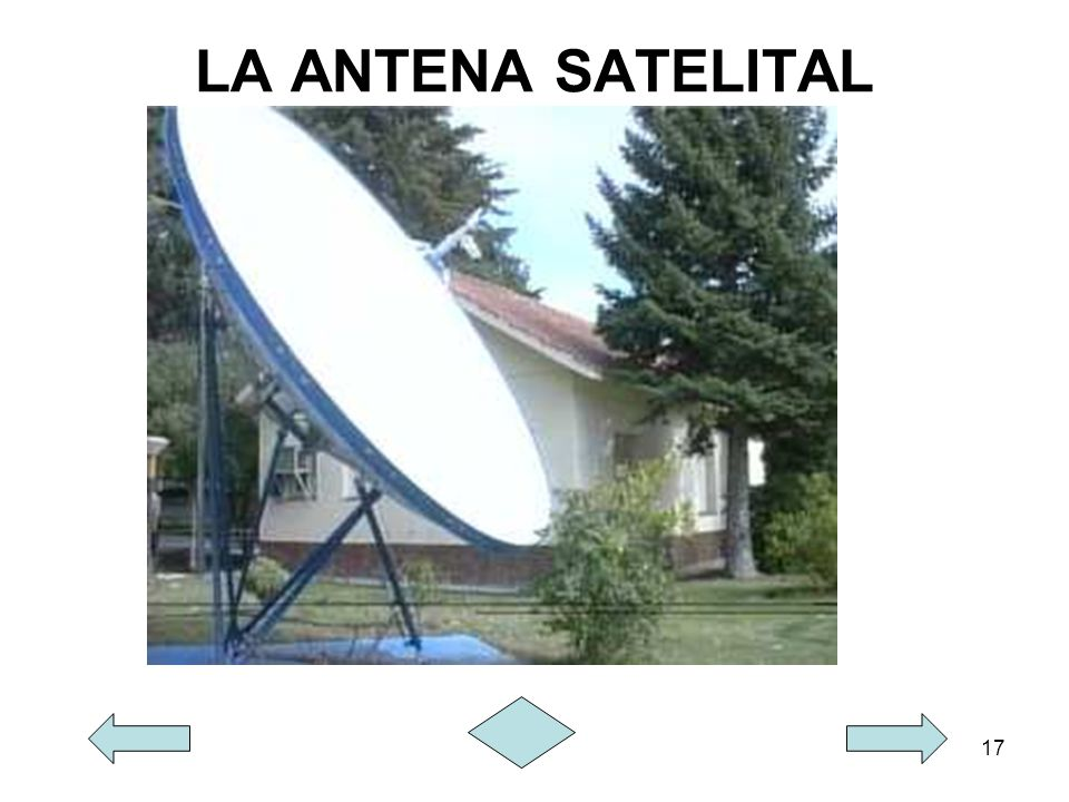 LA ANTENA SATELITAL
