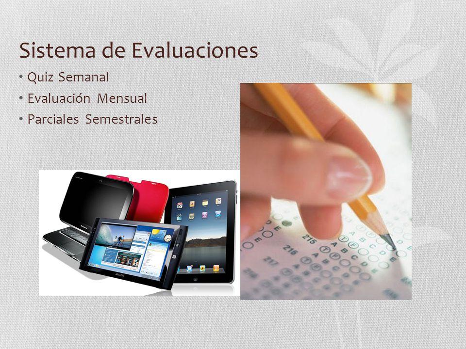 Sistema de Evaluaciones