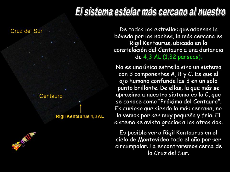 El sistema estelar más cercano al nuestro