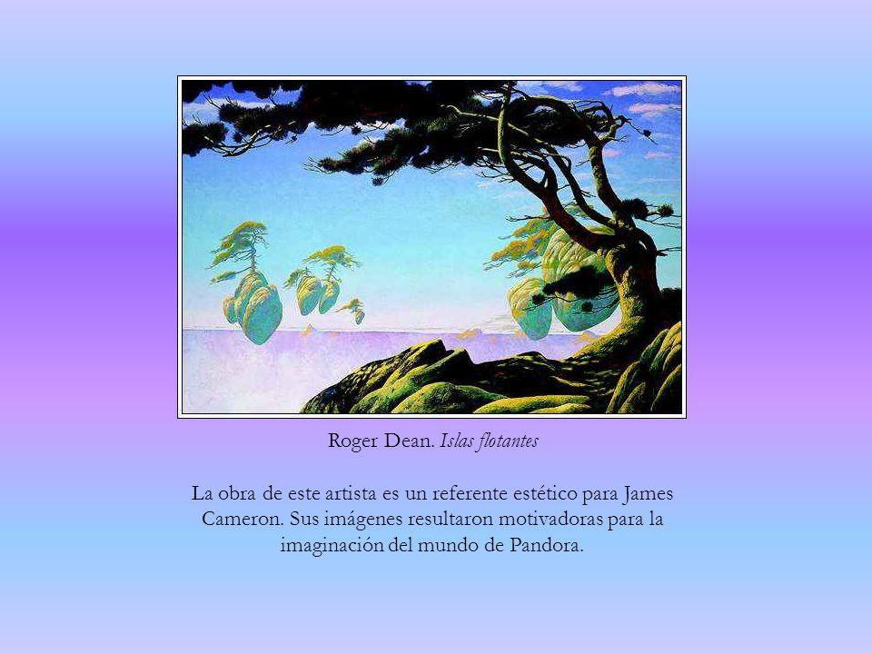 Roger Dean. Islas flotantes