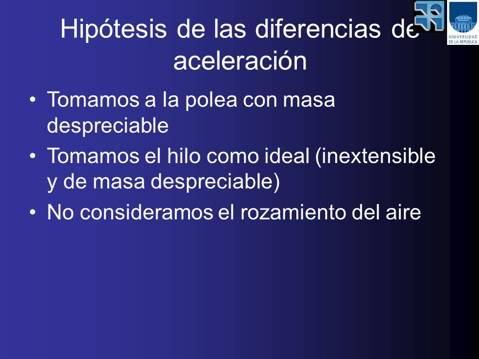 Hipótesis de las diferencias de aceleración