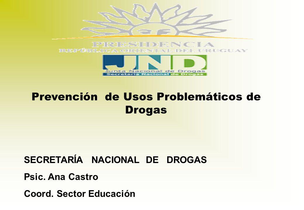 Prevención de Usos Problemáticos de Drogas