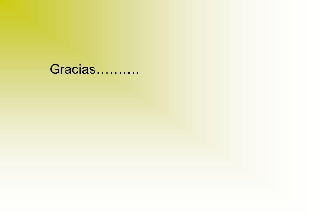 Gracias……….