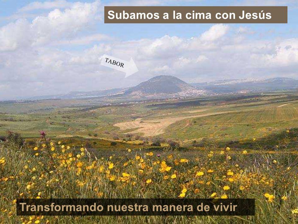 Subamos a la cima con Jesús