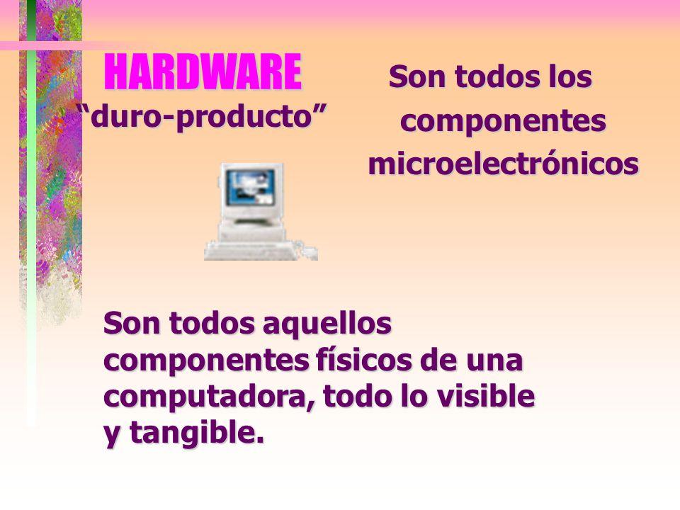 Son todos los componentes microelectrónicos