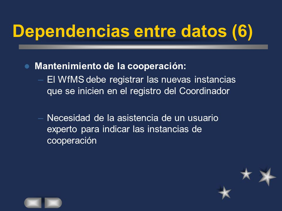 Dependencias entre datos (6)