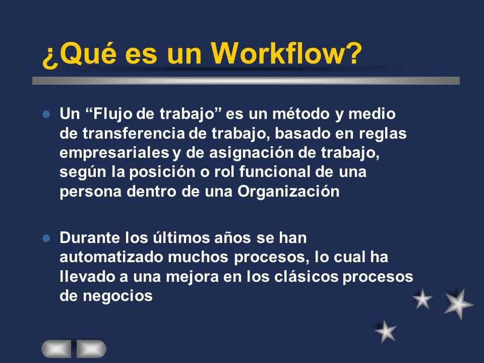 ¿Qué es un Workflow