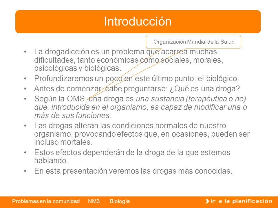 Introducción Organización Mundial de la Salud.