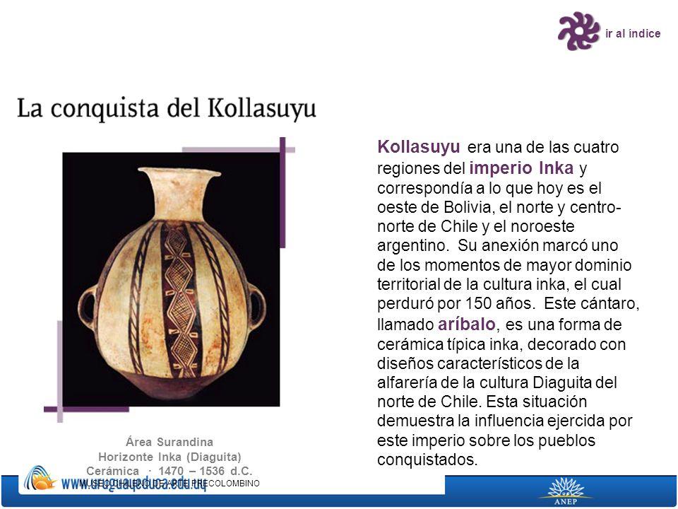 Horizonte Inka (Diaguita) Cerámica · 1470 – 1536 d.C.