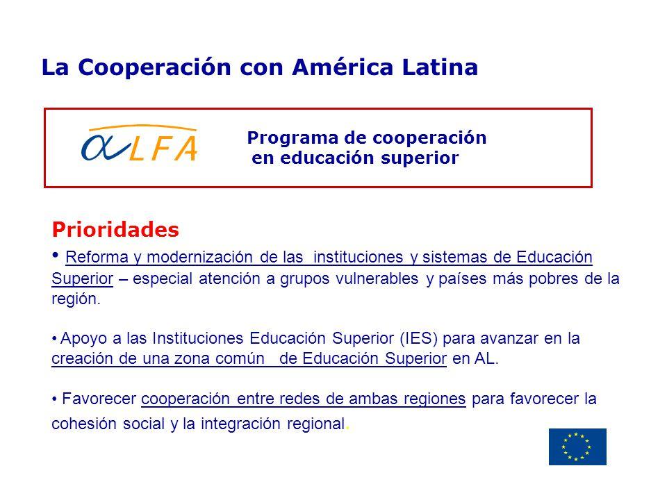 Programa de cooperación en educación superior