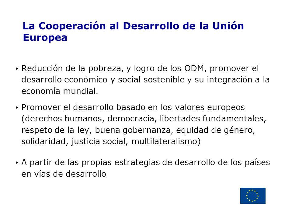 La Cooperación al Desarrollo de la Unión Europea