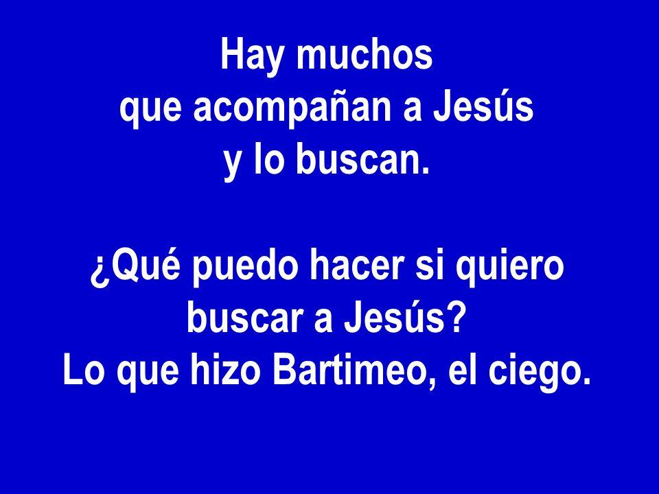 ¿Qué puedo hacer si quiero buscar a Jesús