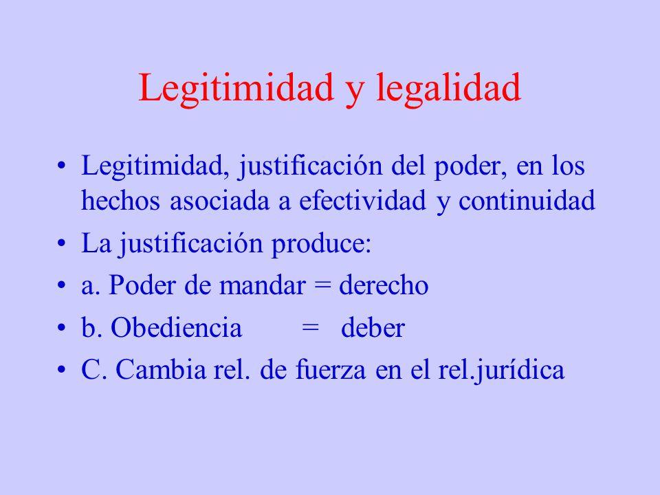 poder y legitimidad