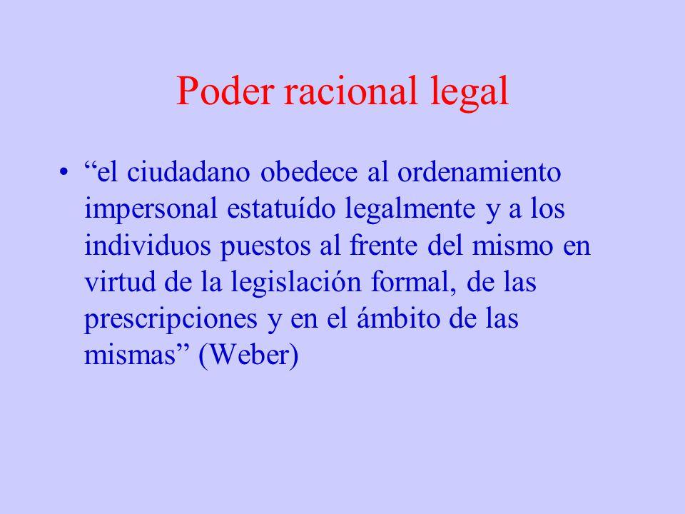 Poder racional legal