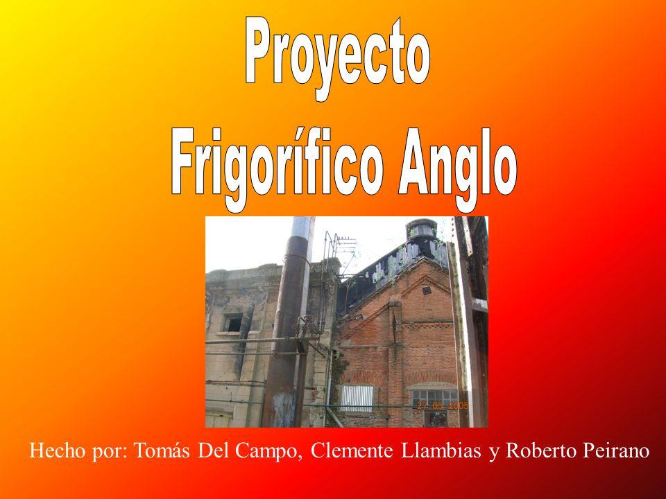 Proyecto Frigorífico Anglo