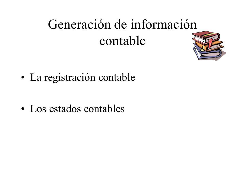 Generación de información contable