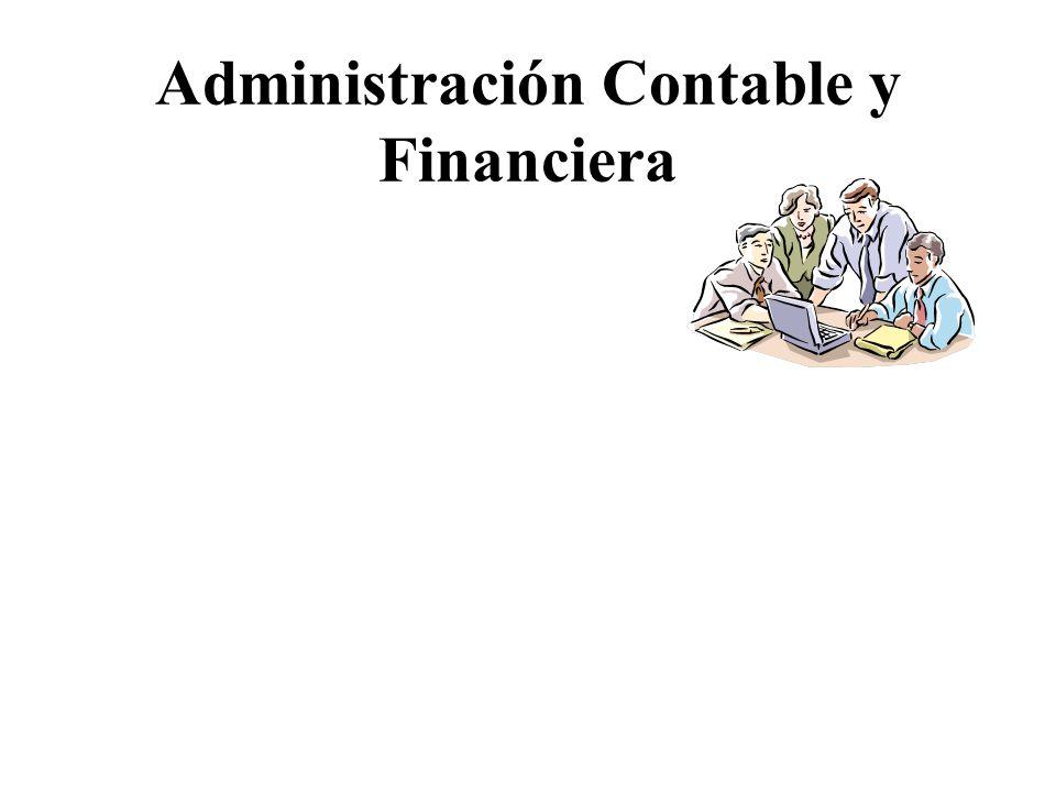 Administración Contable y Financiera
