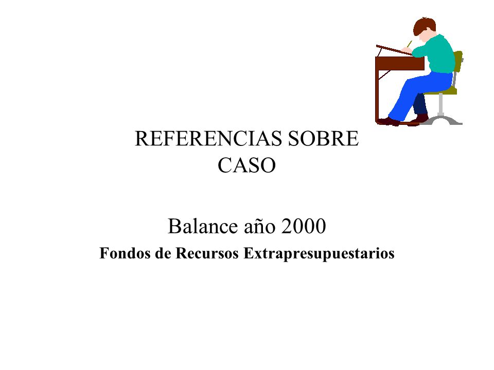 REFERENCIAS SOBRE CASO