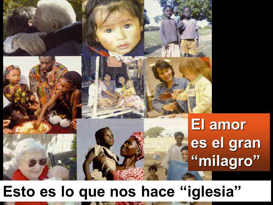 El amor es el gran milagro
