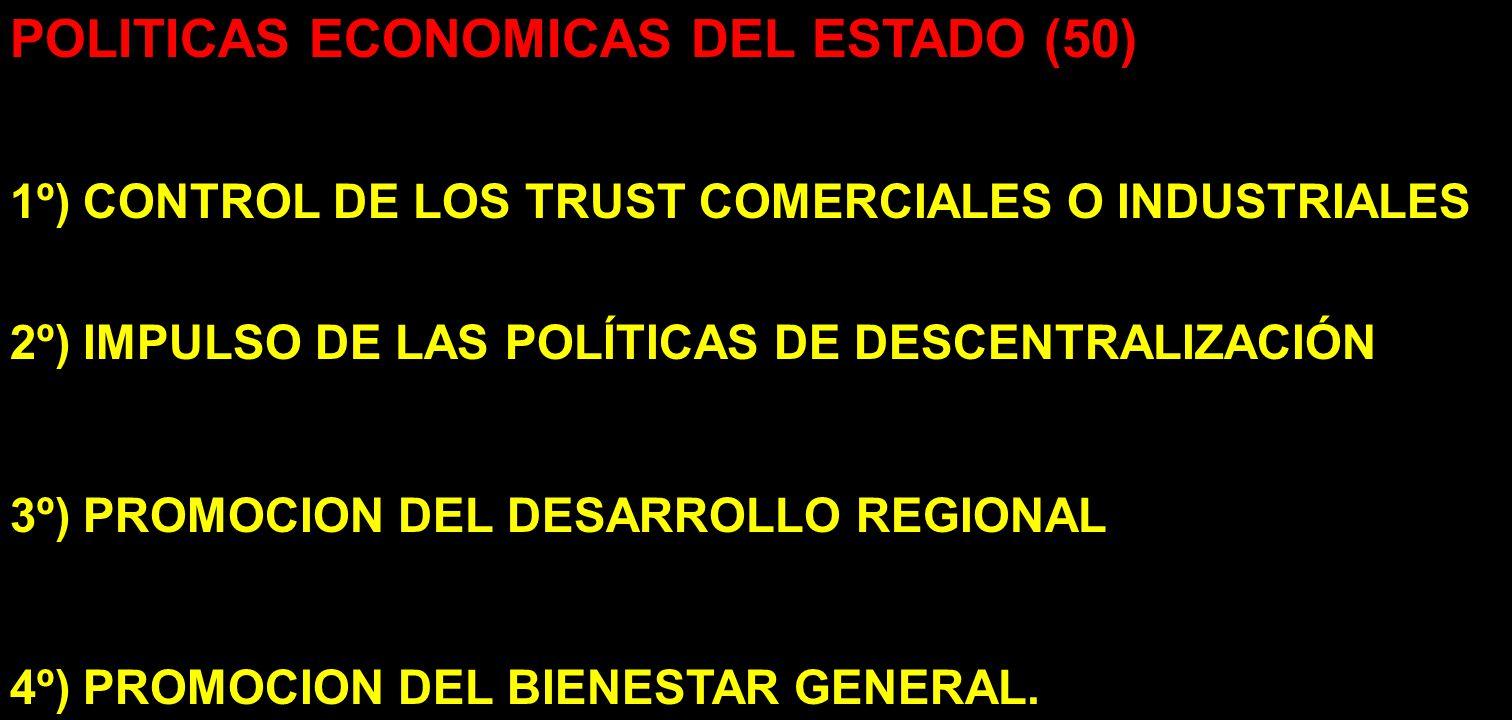 POLITICAS ECONOMICAS DEL ESTADO (50)