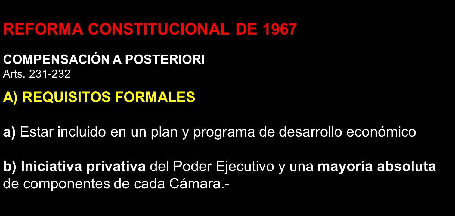 REFORMA CONSTITUCIONAL DE 1967