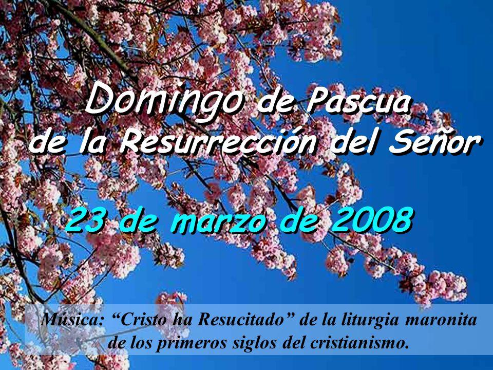 de la Resurrección del Señor
