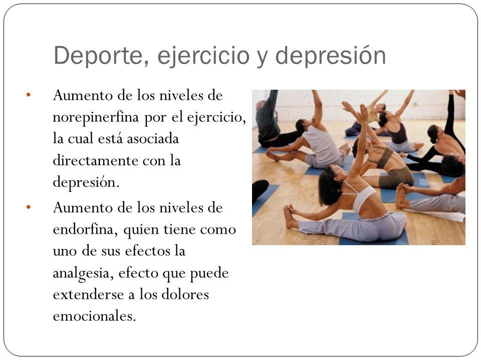 Deporte, ejercicio y depresión
