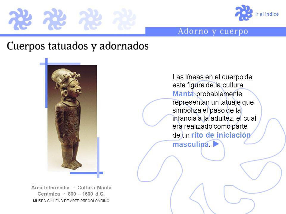 Área Intermedia · Cultura Manta Cerámica · 800 – 1500 d.C.