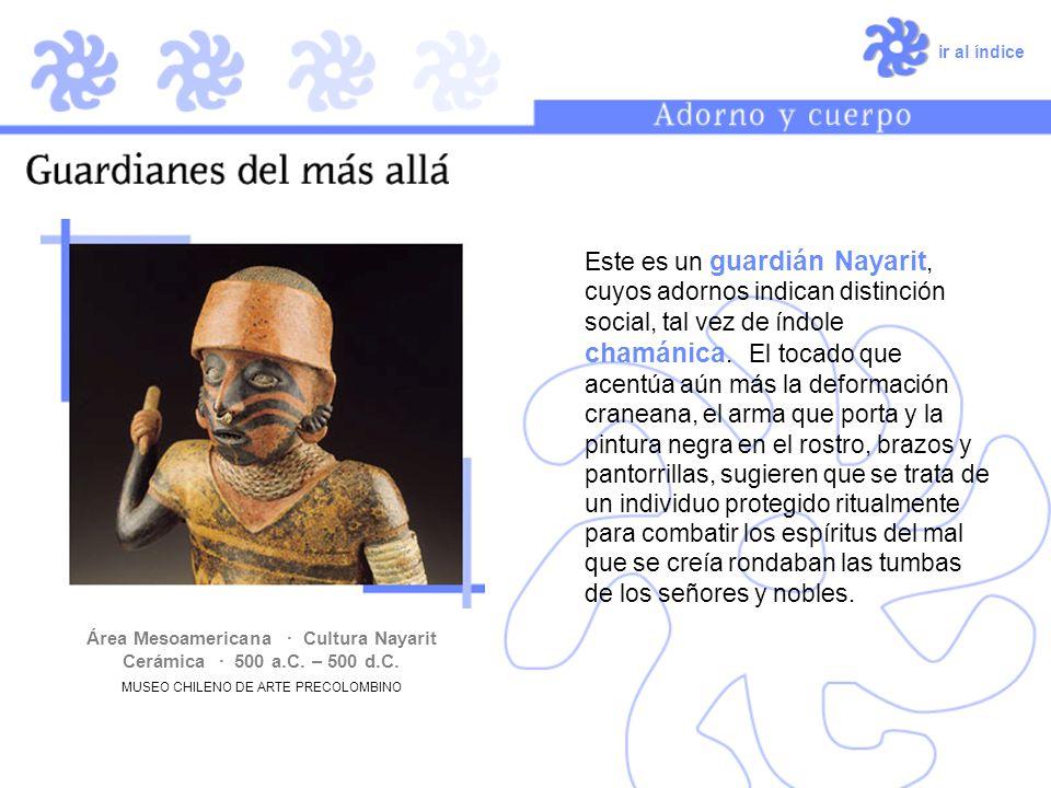 Área Mesoamericana · Cultura Nayarit Cerámica · 500 a.C. – 500 d.C.