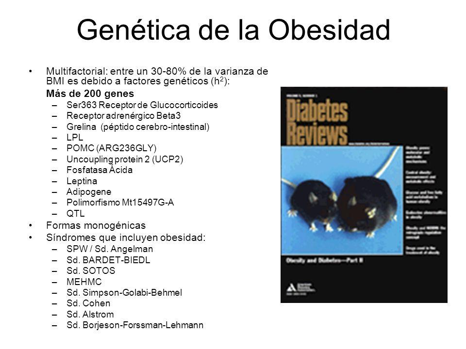 Genética de la Obesidad