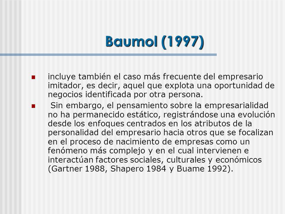 Baumol (1997)