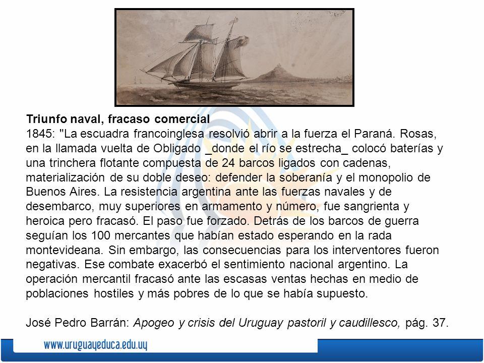 Triunfo naval, fracaso comercial